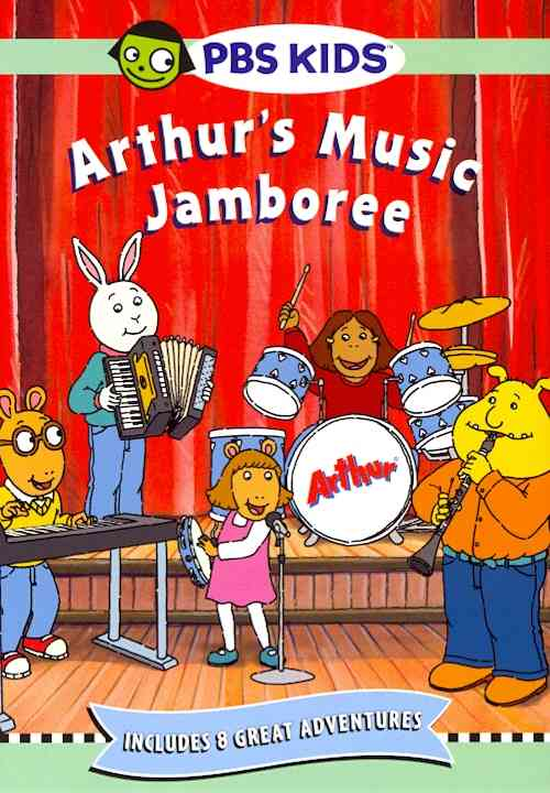 ARTHUR'S MUSIC JAMBOREE BY ARTHUR (DVD)